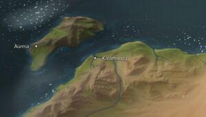 Kalamanda map