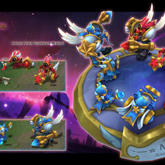 Star Guardian Minions Model (by Riot Artist <a href=