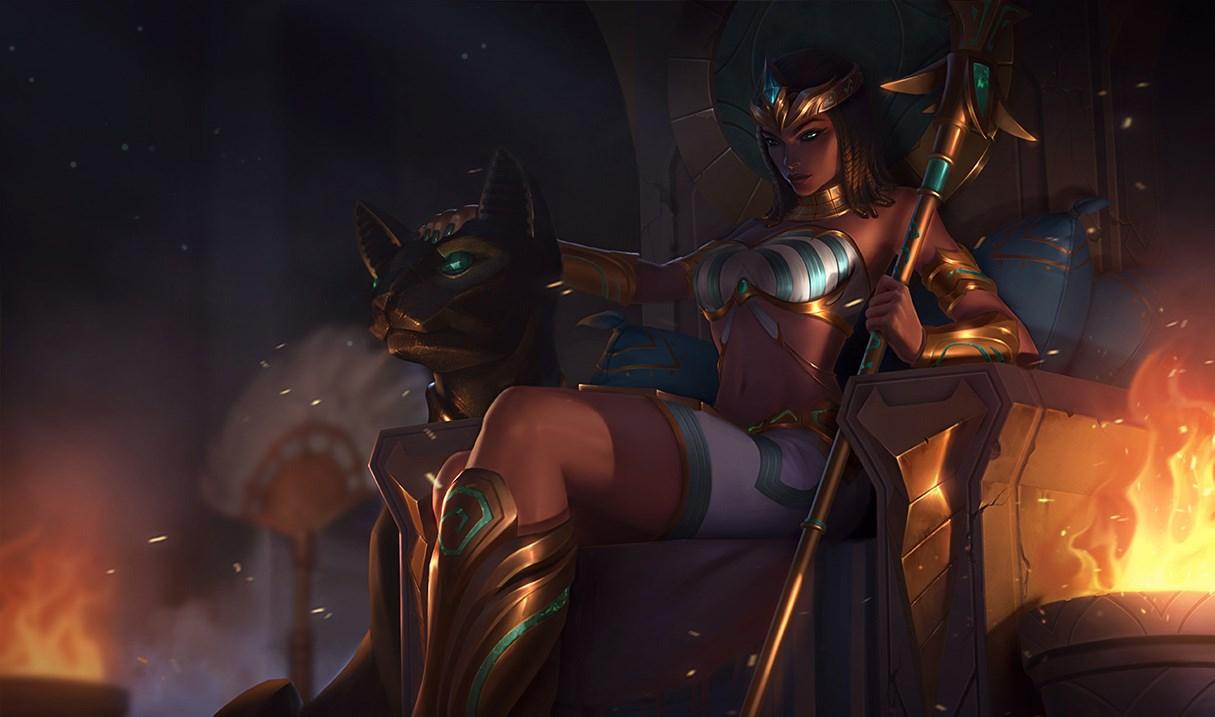 Nidalee PharaohSkin