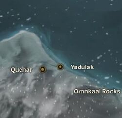 Yadulsk map