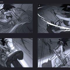 Akali Splash Update Concept 1 (by Riot Artist <a href=