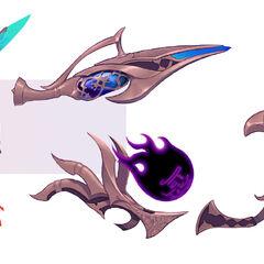 Nightbringer Aphelios Concept 2 (by Riot Artist <a href=
