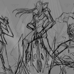 PROJECT: Jhin Log-in Concept 2 (by Riot Artist <a rel=