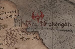 The Drakkengate map 01