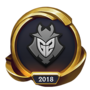 Worlds 2018 G2 Esports (Gold Emote)