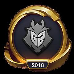 Mistrzostwa 2018 – Złote G2