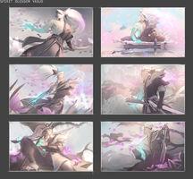 Yasuo Seelenblumen Splash Konzept 01