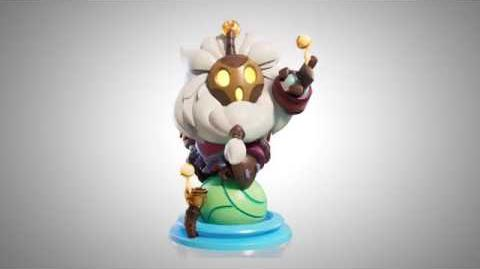 Bard figure turnable