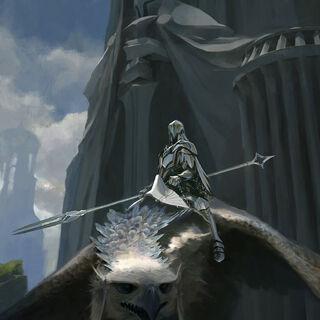 Среброкрылый остроклюв и Рыцарь остроклювов