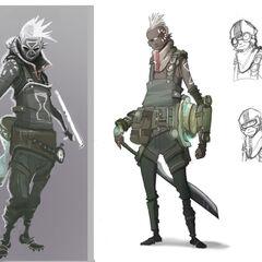 Ekko Concept 12 (by Riot Artist <a href=