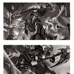 High Noon Hecarim Splash Concept (by Riot Contracted Artist <a href=