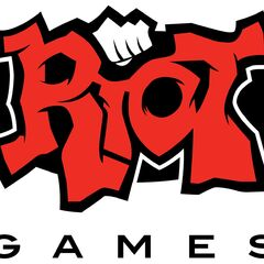 Old Riot Games logo, before April 16, 2019