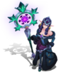 Soraka WinterWonder (Obsidian)