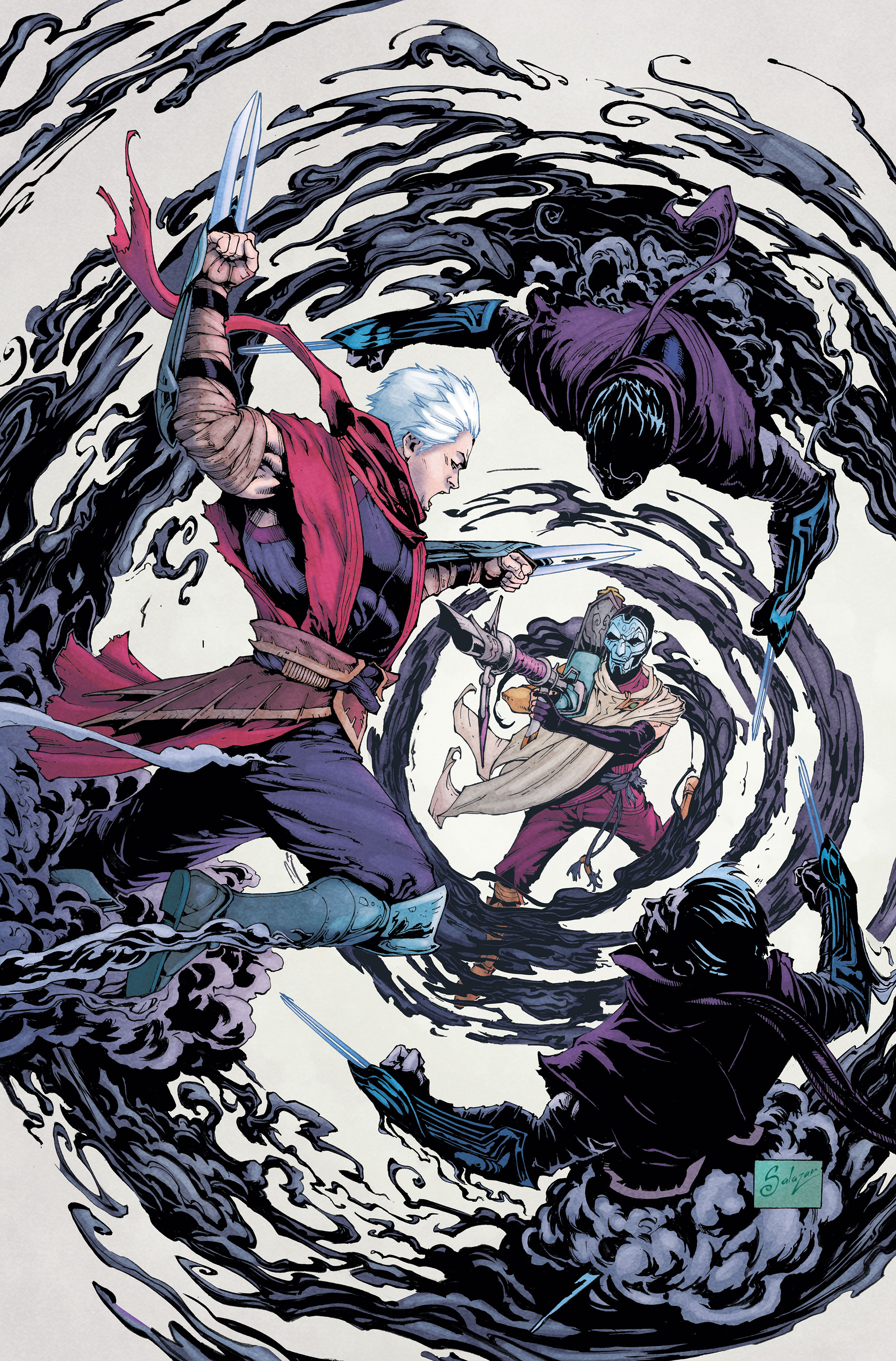 Zed Comic 2 Cover 2