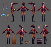 Akali Update Blutmond Model 04