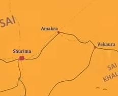Amakra map