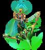 Ashe Kosmische Königin Ashe (Smaragd) M