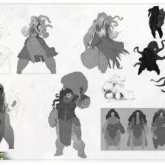 Illaoi Concept 9 (by Riot Artist <a href=