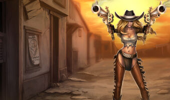 Miss Fortune Cowgirl-Miss Fortune Ch