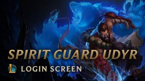 Spirit Guard Udyr - Login Screen