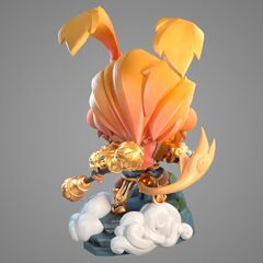 Radiant Wukong Statue Model 2 (by Riot Artists <a href=