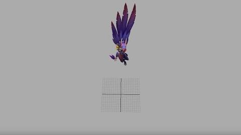 Xayah's Ult Animation