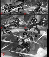 Xin Zhao Update Splash Konzept 01