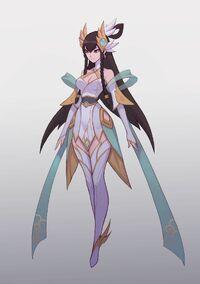 Irelia Himmlisches Schwert Konzept 05