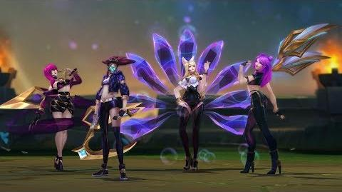 K DA Offizieller Skins-Trailer – League of Legends