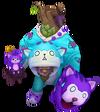 Maokai Miaukai (Aquamarin) M