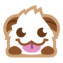 Poro sticker smile