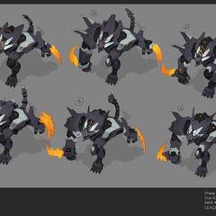 Mecha Rengar Concept 5 (by Riot Artist <a href=