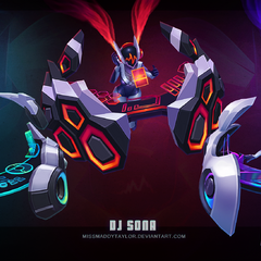 DJ Sona Model 1 (by Riot Artist <a href=