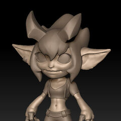 Little Demon Tristana Model 1
