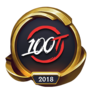 Worlds 2018 100 Thieves (Gold) Emote