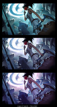 Akali Update Nurse Splash concept 03