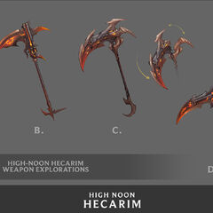 High Noon Hecarim Concept 5 (by Riot Artist <a href=