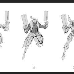 Heartseeker Lucian Concept 1 (by Riot Artist <a href=
