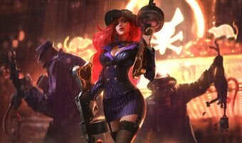 Miss Fortune CrimeCitySkin