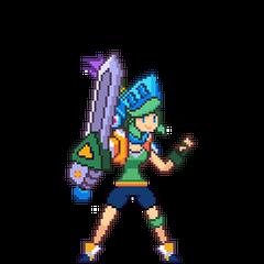 Pixelowa podobizna Arcade Riven