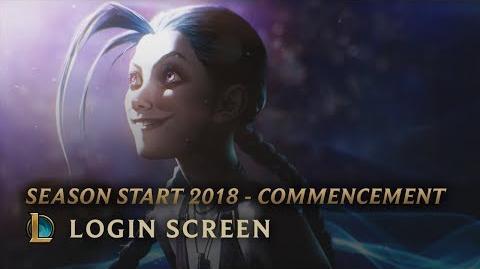 Saisonstart 2018 - Beginn - Login Screen