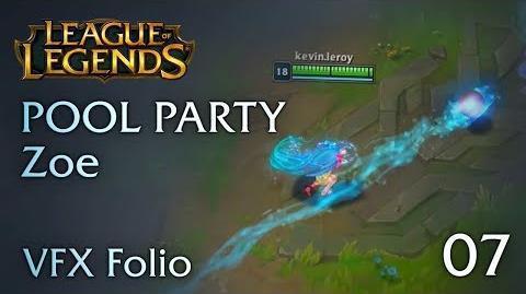 VFX Folio Pool Party Zoe