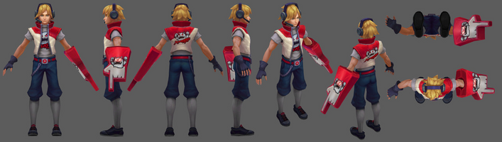 Ezreal Update TPA- Model 01