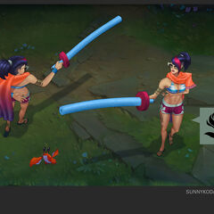 Pool Party Fiora Concept (by Riot Artist <a href=