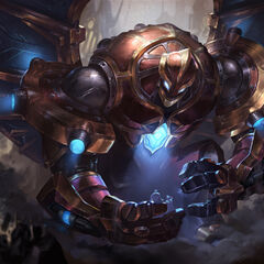 Hextech Galio Update Splash Concept 5 (by Riot Artist <a href=