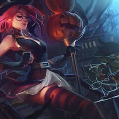 Bewitching Janna Splash Concept 4 (by Riot Artist <a href=