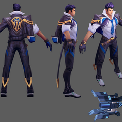 Battle Academia Jayce Model