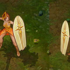 Pool Party Leona Concept 1 (by Riot Artist <a href=