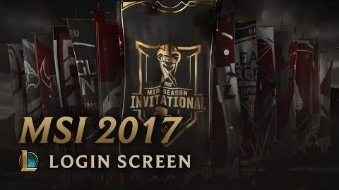 MSI 2017 - Login Screen