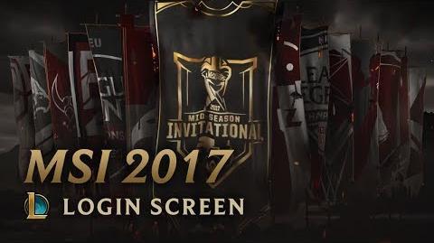 MSI 2017 - Login Screen
